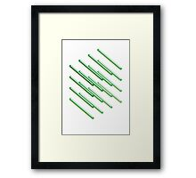 Isometric composition 2 Framed Print