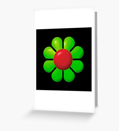 Flower - That '70s Show Greeting Card