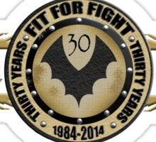 Witch Cross 'Fit For Fight' 30 year anniversary tee Sticker