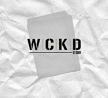 WCKD (white) by eightyninth