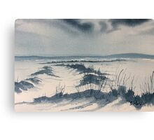 Winter Light over Lastingham Rigg Canvas Print