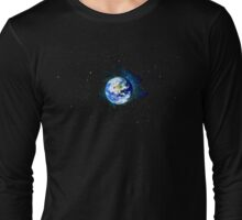 Pale Blue Dot Long Sleeve T-Shirt