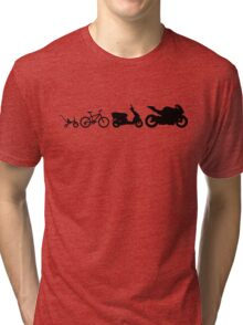 evolution motobikes Tri-blend T-Shirt