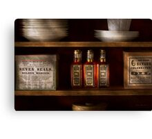 Pharmacy - For all your lubrication needs Canvas Print