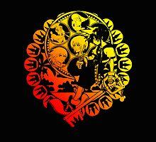 Kingdom Hearts Deep Dive Decal Black by Sorage55