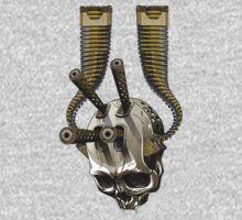 machine gun skull Kids Clothes