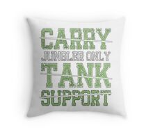 League Of Legends - Jungle only pillow Throw Pillow