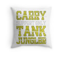 League Of Legends - Carry only pillow Throw Pillow