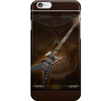 Death Metal Bass Skull iPhone Case/Skin