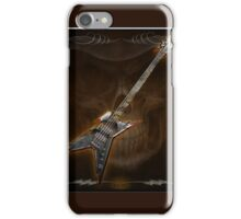 Death Metal Bass Skull iPhone Case/Skin
