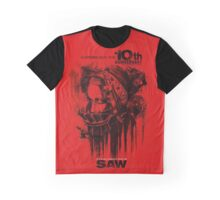 Saw Horror Movie Graphic T-Shirt