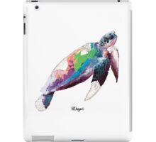 Geometric Animal - Turtle iPad Case/Skin