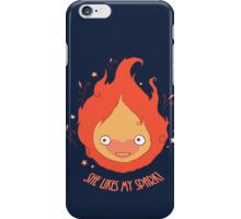 She Likes My Spark! iPhone Case/Skin