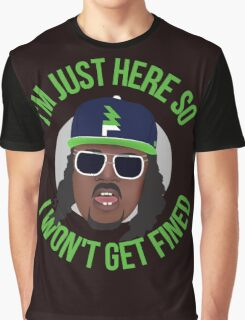 Marshawn Terrell Lynch : Beast Mode  Graphic T-Shirt