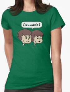 fuuuuck! Womens Fitted T-Shirt