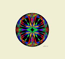 sdd Triangle Abstract Fractal Mandala 2G by mandalafractal