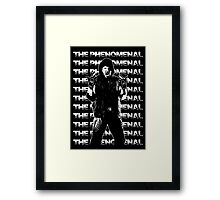 THE PHENOMENAL Framed Print