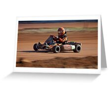 Speed Racer Greeting Card
