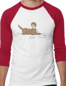 dogkid Men's Baseball ¾ T-Shirt