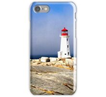 Lighthouse-Peggy's Cove, Canada iPhone Case/Skin