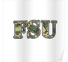 FSU Camo Poster