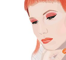 Hayley Williams by Freckledkisses