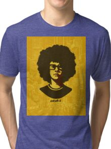 At the Drive-In (text version) Tri-blend T-Shirt