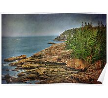 The Cliffs of Acadia Poster
