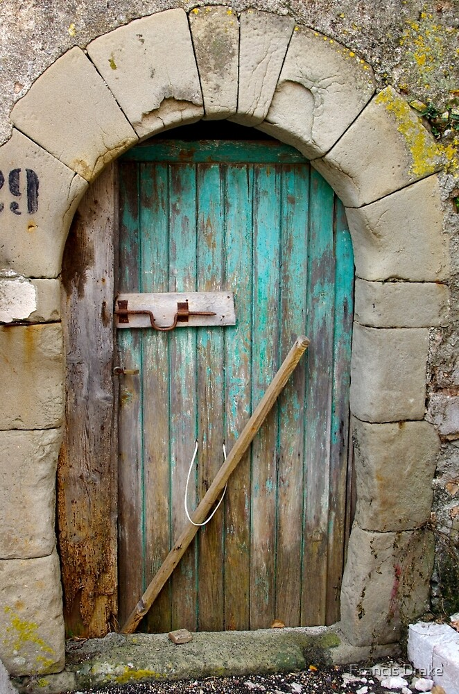 Old Door by Francis Drake