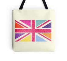 Pink Union Jack Tote Bag