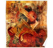 Abstract Abstractions ~ Primitive Fight. Poster