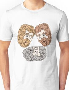 3 friends Unisex T-Shirt