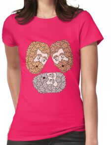 3 friends Womens Fitted T-Shirt