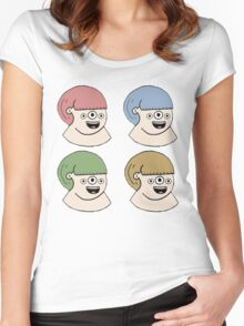 4twins Women's Fitted Scoop T-Shirt