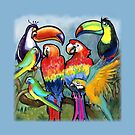 Tropical Birds by Kevin Middleton
