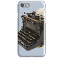 OLD SCHOOL TYPEWRITER-2 iPhone Case/Skin