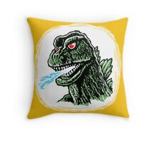 GODZILLA - King of the Monsters! Throw Pillow