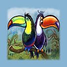 Toucans by Kevin Middleton