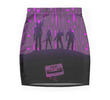 Guardian Of Galaxy Heroes In Action Mini Skirt