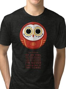 Owl on the Prowl Tri-blend T-Shirt