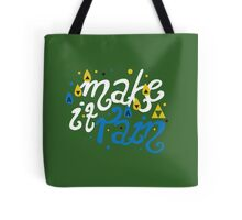 Song of Storms - Make It Rain Tote Bag