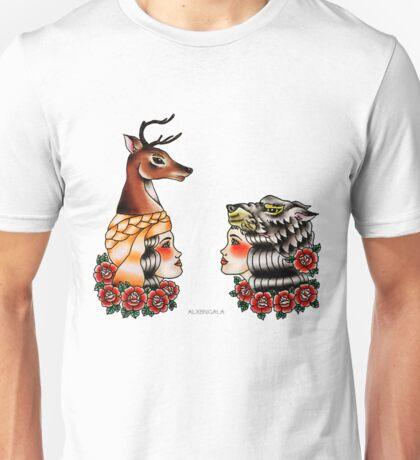 Yaqui Lady's Heads Unisex T-Shirt