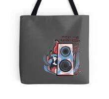 Vinyl Undergound Tote Bag