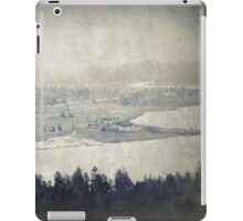 view from the Astoria Column Youngs Bay iPad Case/Skin