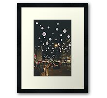 London Evening Framed Print