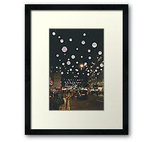 London Evening Framed Print