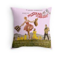 The Sound of Music Poster Throw Pillow