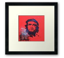 Abstract Che Guevara Painting Framed Print