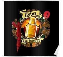 Estus Majula Imported Ale (Dark Souls 2) Poster