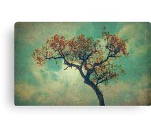 Vintage Rusty Tree Canvas Print